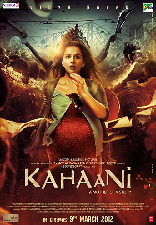 Poster Of Kahaani 2012 Full Movie Download 300MB In Hindi 720P Compressed Small Size Pc Movie at movies365.in