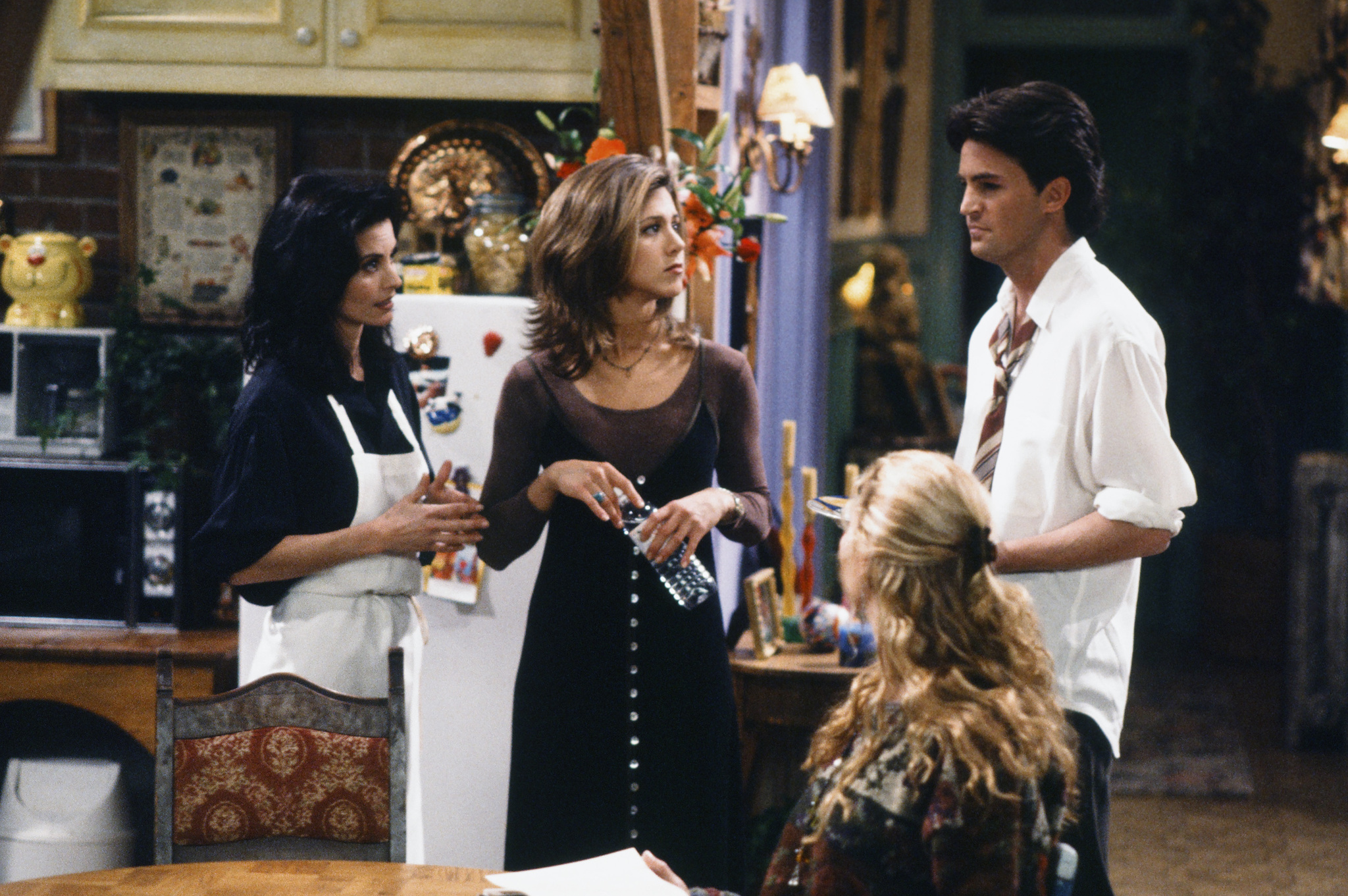 Friends: The One with the Stoned Guy | Season 1 | Episode 15