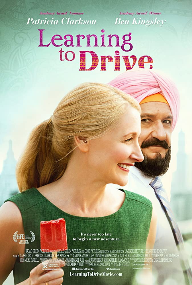 Learning to Drive (2014) 300MB BluRay Dual Audio Hindi 480p x264 ESubs