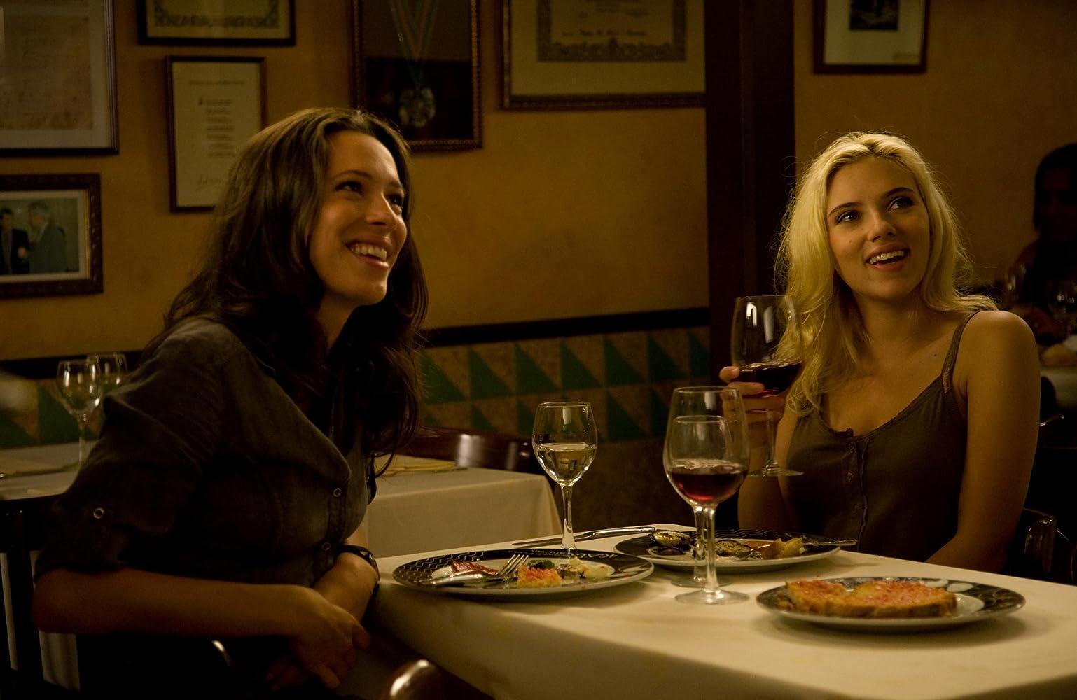 Rebecca Hall and Scarlett Johansson in Vicky Cristina Barcelona (2008)