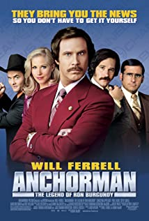 Anchorman: The Legend of Ron Burgundy movie