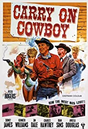 Carry on Cowboy Poster