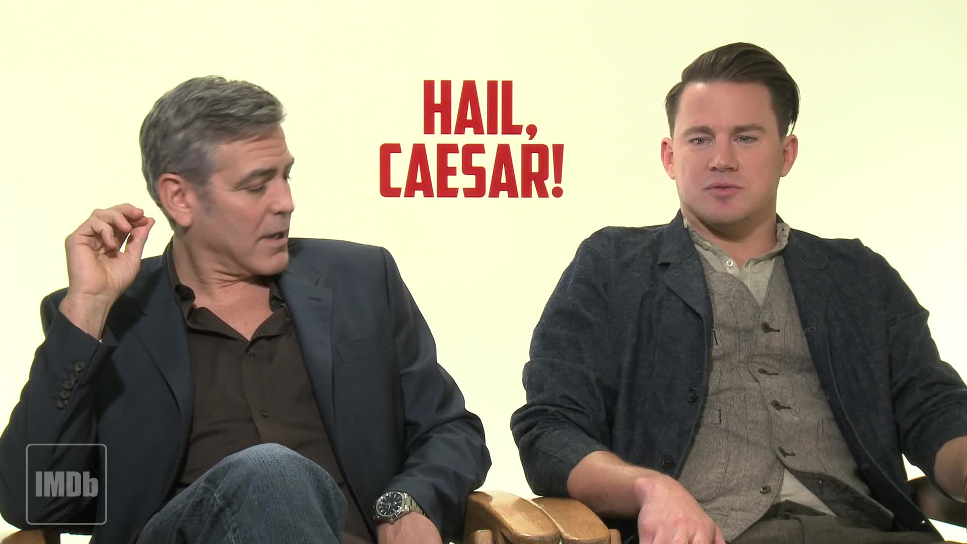 hail caesar interview george clooney channing tatum josh interview george clooney channing tatum josh brolin on working the coen brothers