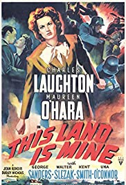 This Land Is Mine Poster