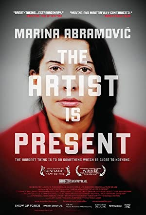 Marina Abramovic: The Artist Is Present poster