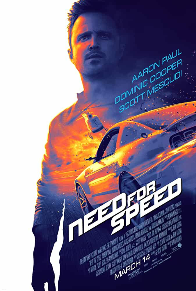 Need for Speed 2014 720p BluRay Dual Audio [Hindi 2.0 – English 2.0] ESub
