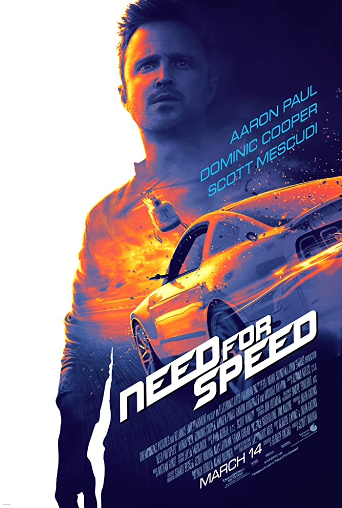 Need for Speed 2014 400MB BluRay Dual Audio Hindi 480p x264 ESubs