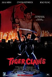 Tiger Claws Poster