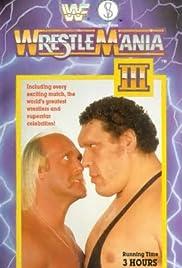 WrestleMania III Poster