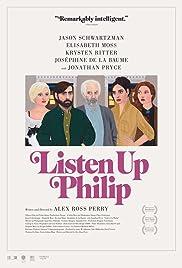 Listen Up Philip Poster