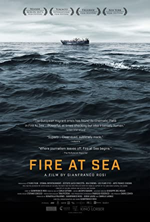 Fuocoammare (Fire at sea) Film Poster