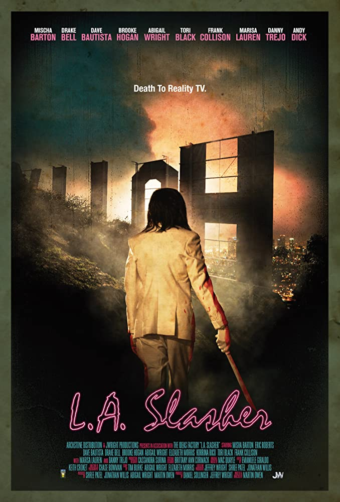 L.A. Slasher Movie Poster