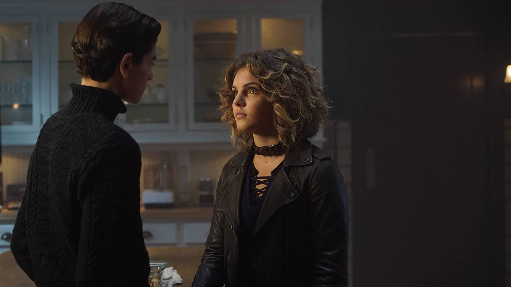 David Mazouz and Camren Bicondova in Gotham (2014)