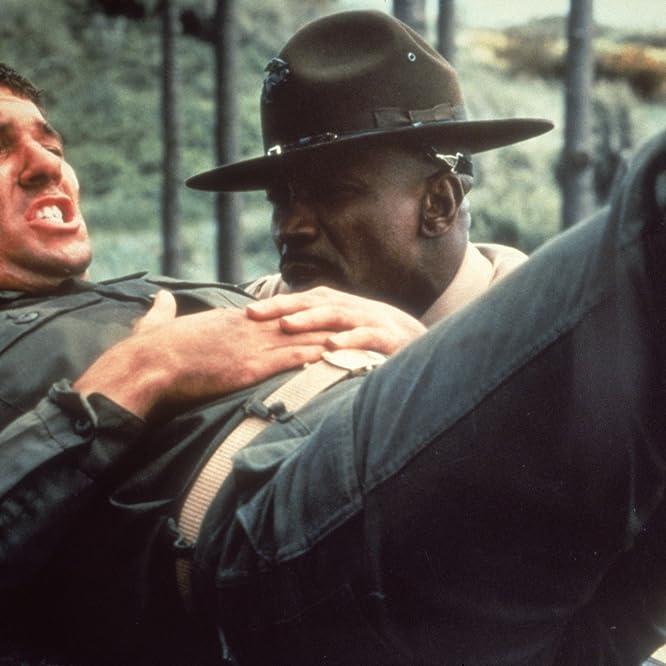 Richard Gere and Louis Gossett Jr. in An Officer and a Gentleman (1982)