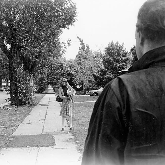Jamie Lee Curtis and Nick Castle in Halloween (1978)