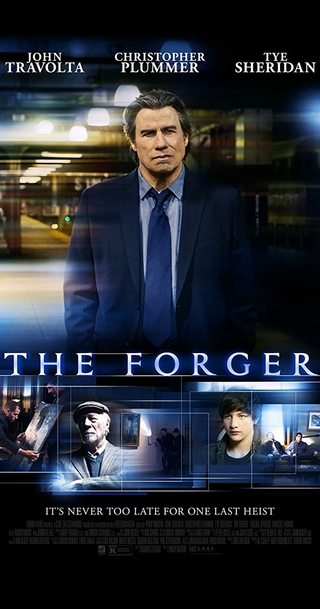 The Forger 2014 Movie Poster