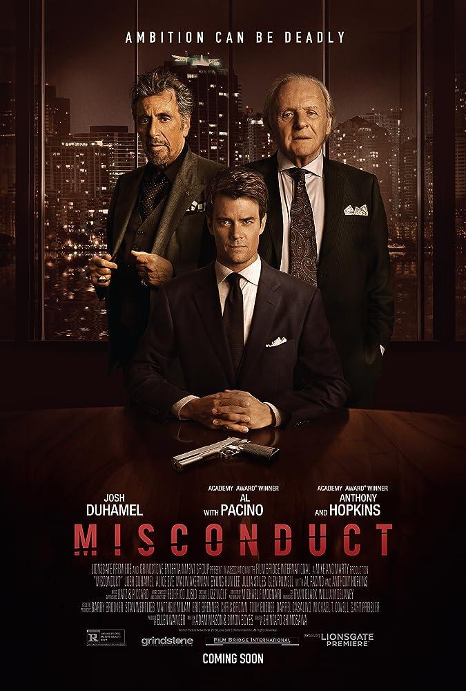Misconduct (2016) Dual Audio Hindi 350MB BluRay 480p x264 M-Subs