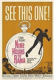 Nine Hours to Rama Poster