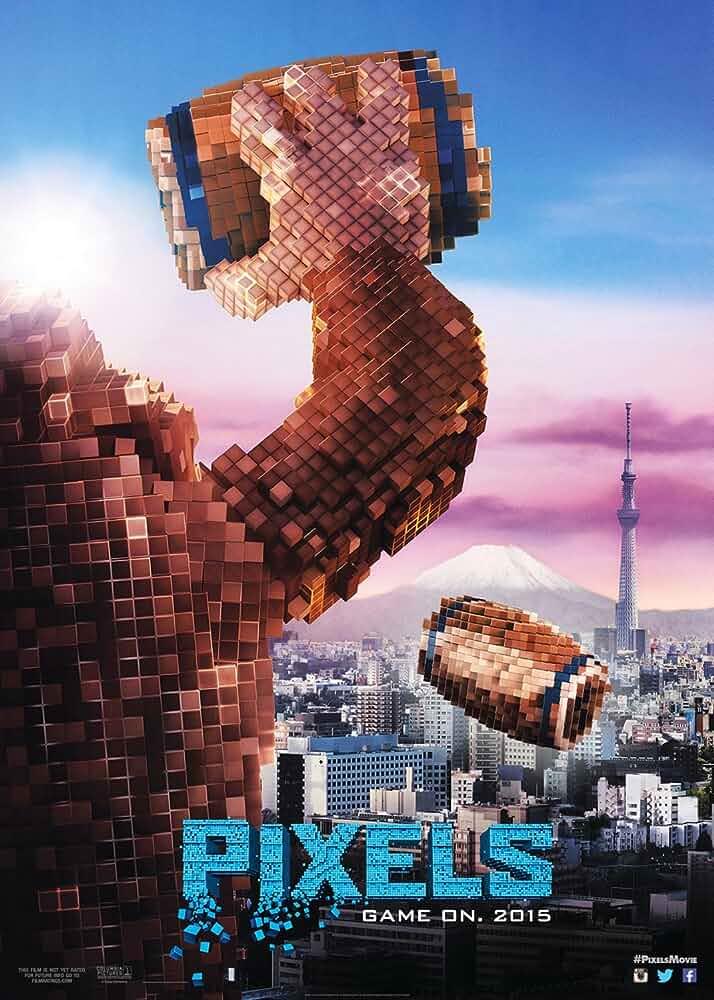Pixels (2015) Full Movie Dual Audio Hindi 1080p BluRay ESubs