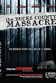 The Bucks County Massacre Poster