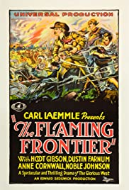 The Flaming Frontier Poster