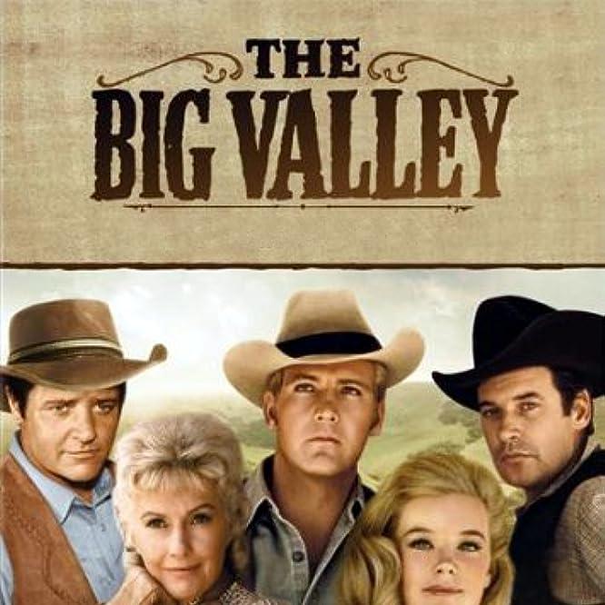 Lee Majors, Barbara Stanwyck, Linda Evans, Peter Breck, and Richard Long in The Big Valley (1965)
