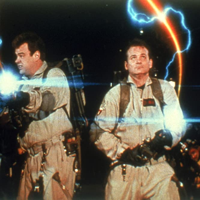Dan Aykroyd, Bill Murray, Harold Ramis, and Ernie Hudson in Ghostbusters II (1989)