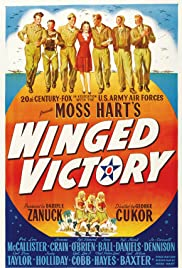 Winged Victory(1944) Poster - Movie Forum, Cast, Reviews