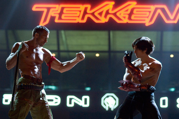 Gary Daniels and Jon Foo in Tekken (2010)