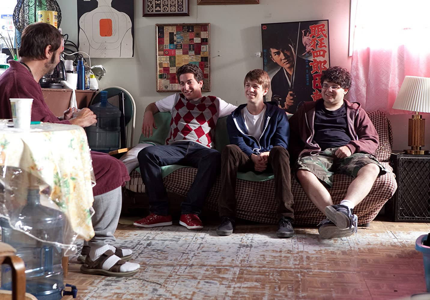 Rick Shapiro, Thomas Mann, Oliver Cooper, and Jonathan Daniel Brown in Project X (2012)