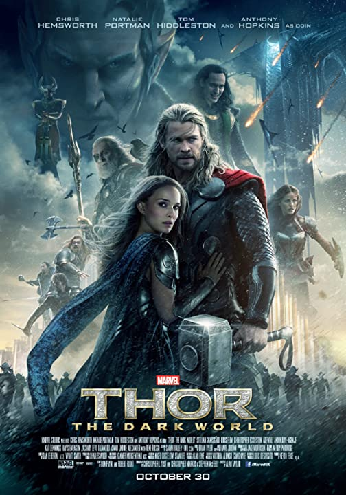 Poster Of Thor: The Dark World (2013) Full Movie Hindi Dubbed Free Download Watch Online At movies365.in