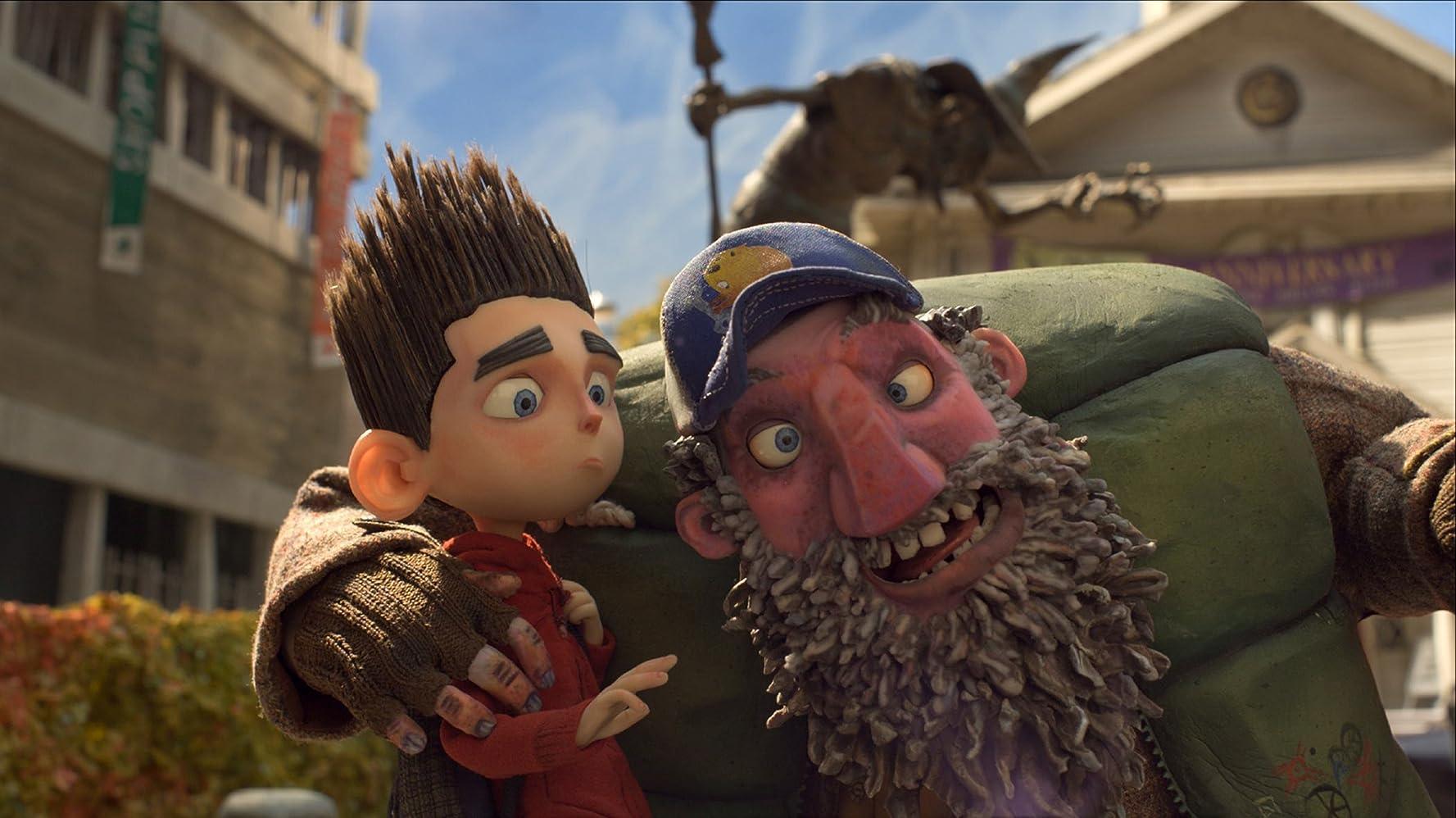 John Goodman and Kodi Smit-McPhee in ParaNorman (2012)