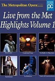 The Metropolitan Opera Presents Poster