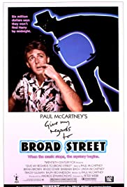 Give My Regards to Broad Street (1984) Poster - Movie Forum, Cast, Reviews