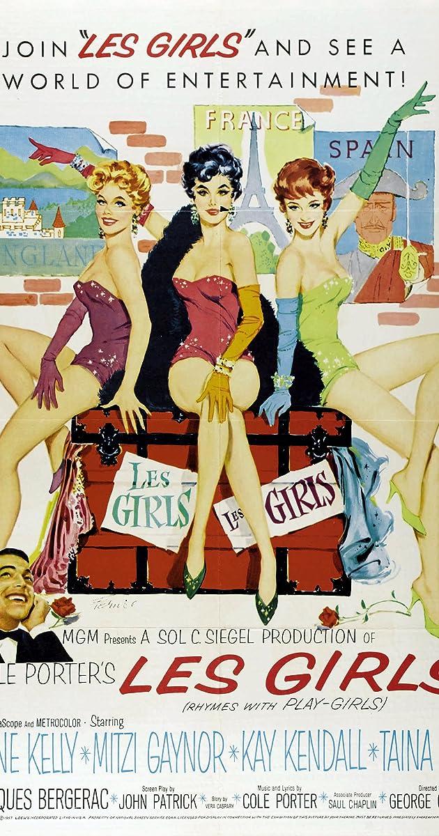 Lyric cole porter lyrics : Les Girls (1957) - Soundtracks - IMDb