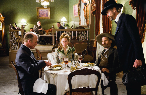 Renée Zellweger, Ed Harris, Jeremy Irons, and Viggo Mortensen in Appaloosa (2008)