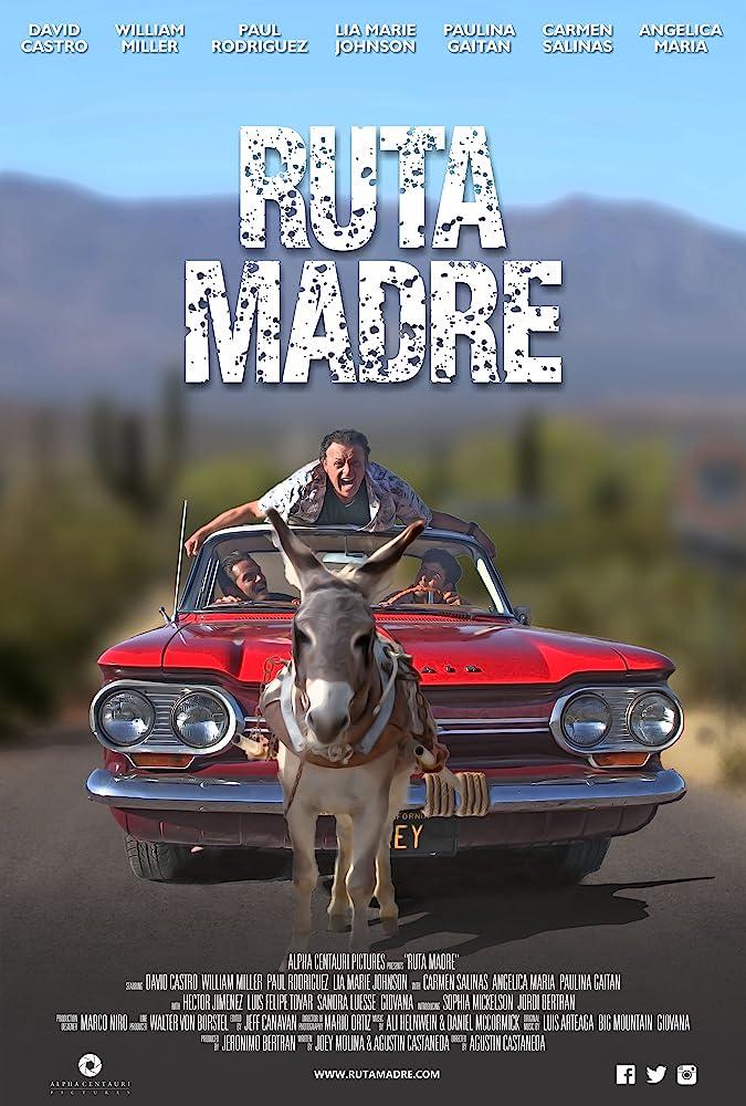 Paul Rodriguez, William Miller, and David Castro in Ruta Madre (2016)