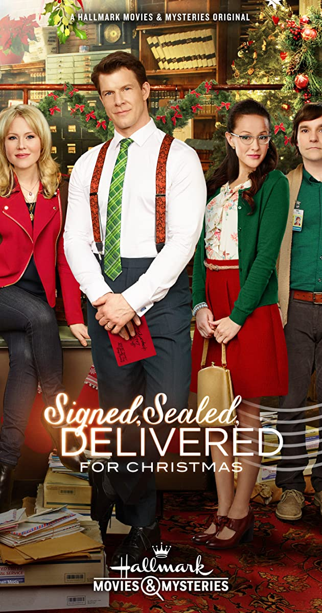 Signed sealed delivered for christmas tv movie 2014 imdb solutioingenieria Images