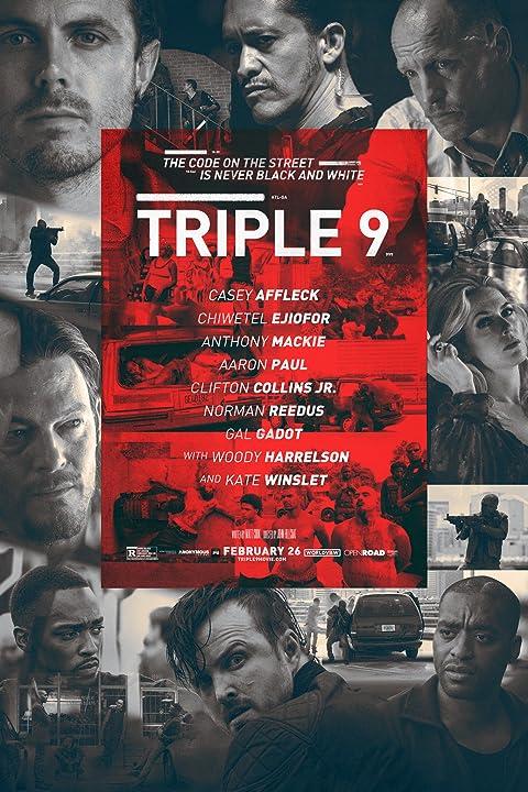 Triple 9 (2016) Full Movie 720p HDRip Watch Online Download
