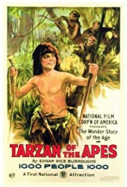 Tarzan of the Apes (1918) Poster - Movie Forum, Cast, Reviews