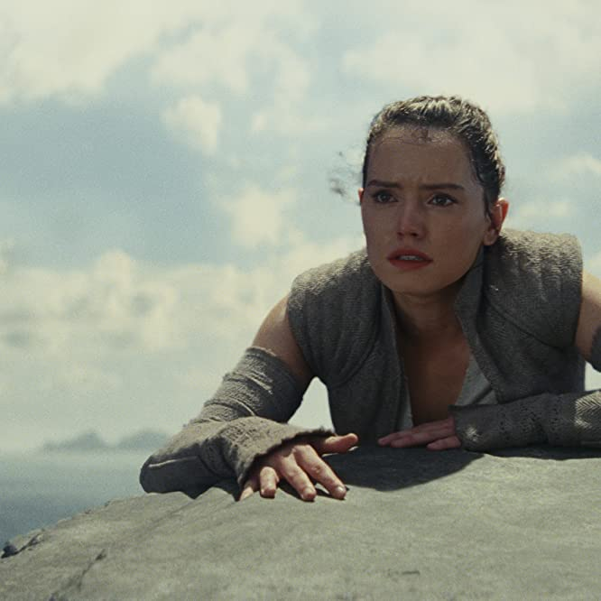 Daisy Ridley in Star Wars: The Last Jedi (2017)