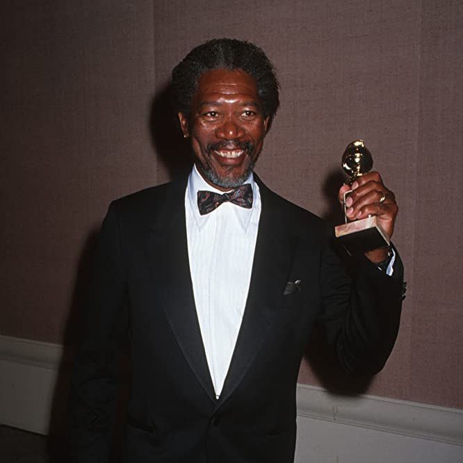 Morgan Freeman at an event for The 47th Annual Golden Globe Awards (1990)