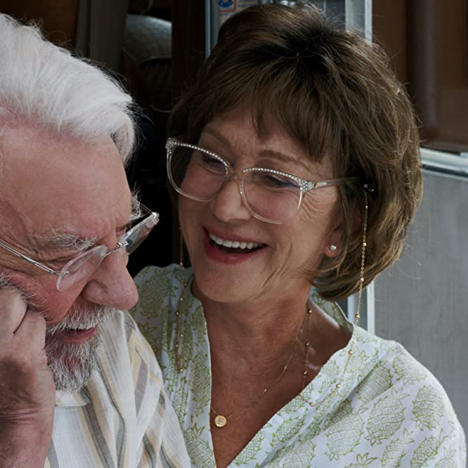 Helen Mirren and Donald Sutherland in The Leisure Seeker (2017)