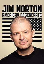Jim Norton: American Degenerate Poster