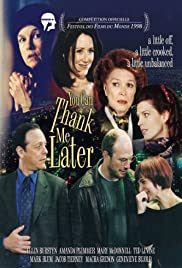You Can Thank Me Later Poster