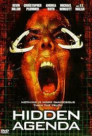 Hidden Agenda(1999) Poster - Movie Forum, Cast, Reviews