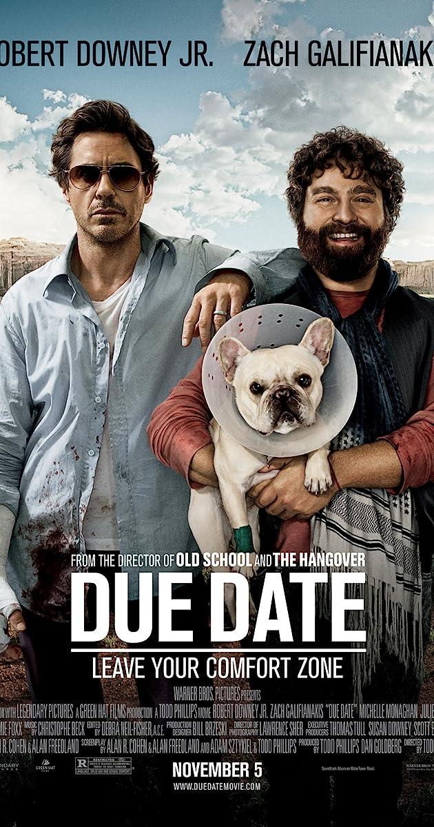 Due date movie in Australia