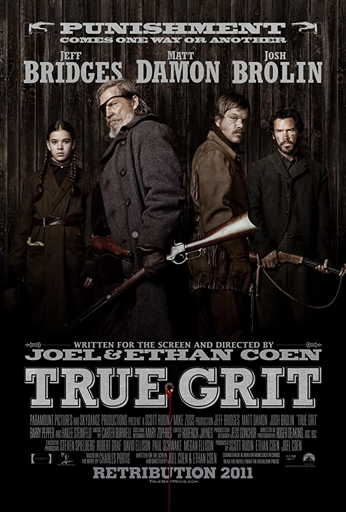 True Grit (2010) Dual Audio (Hindi-English) BRRip 720p