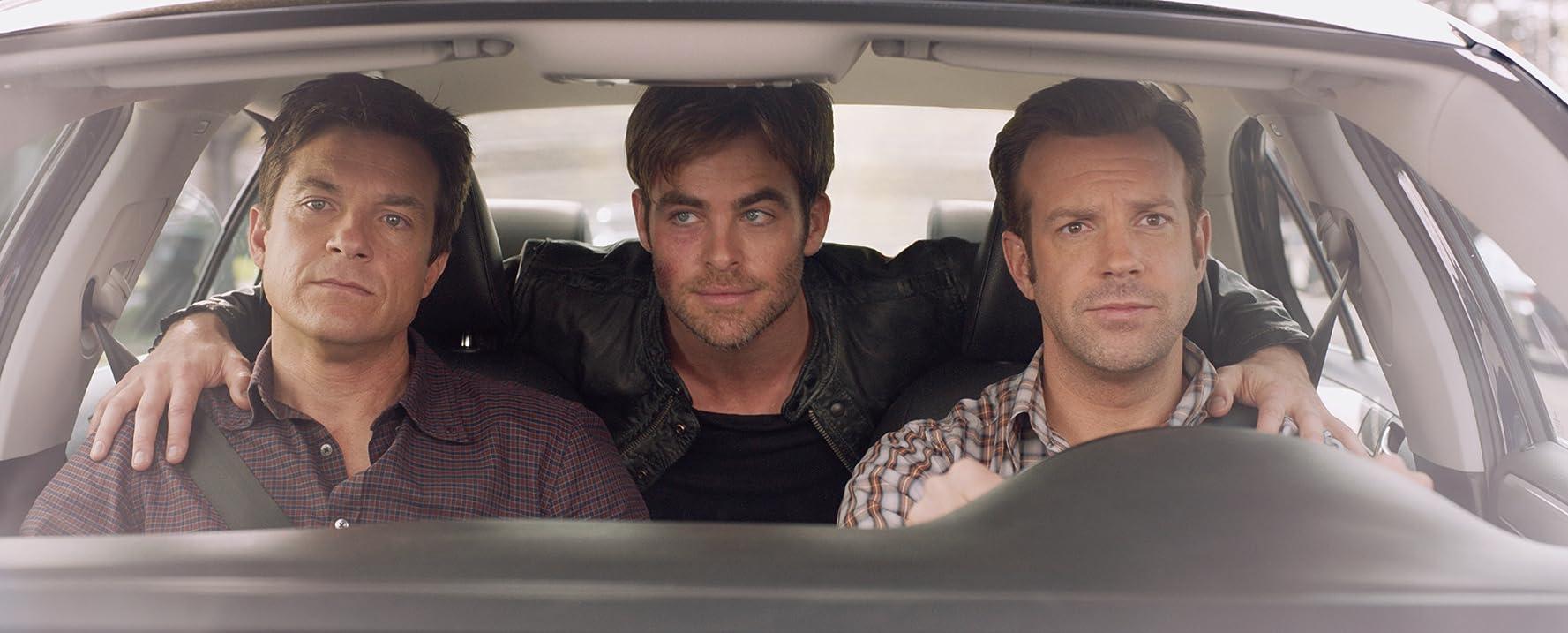 Jason Bateman, Jason Sudeikis, and Chris Pine in Horrible Bosses 2 (2014)