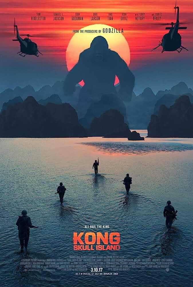Kong: Skull Island (2017) Hindi Dubbed